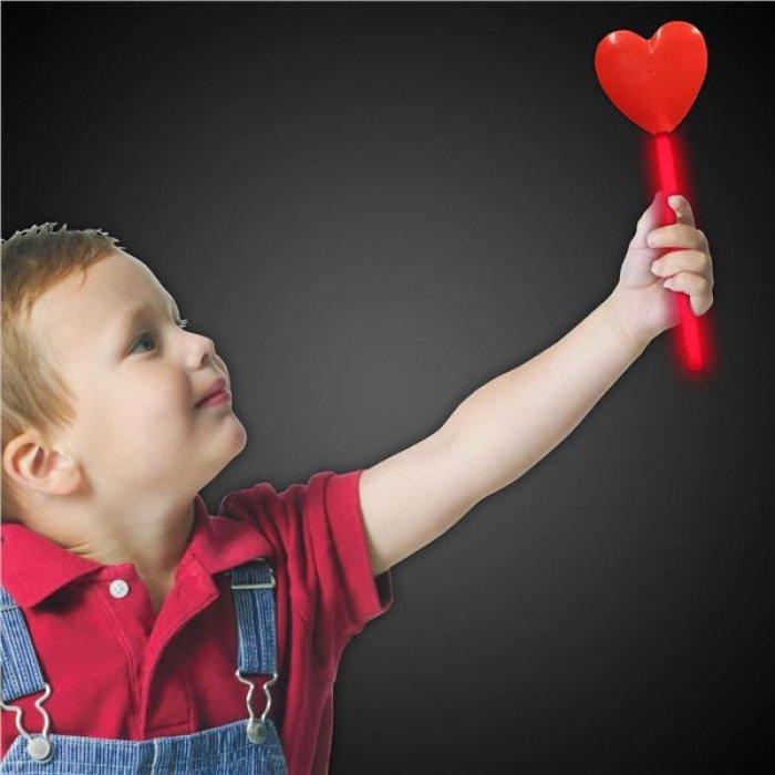 Red Heart Glow Wand (Per Wand)