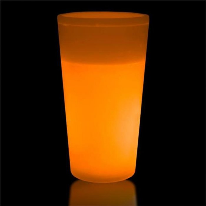 Orange Glow 12 oz Cup