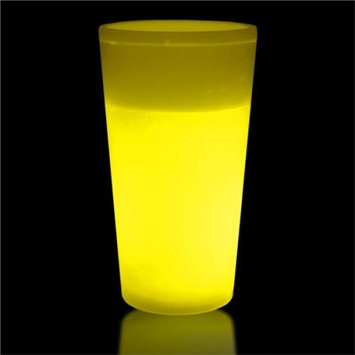 Yellow Glow 12 oz Cup