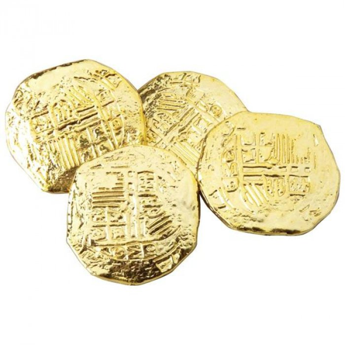 Gold Coins (Per 72 pack)