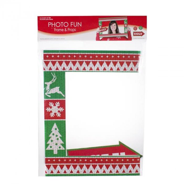 Ugly Sweater Photo Frame