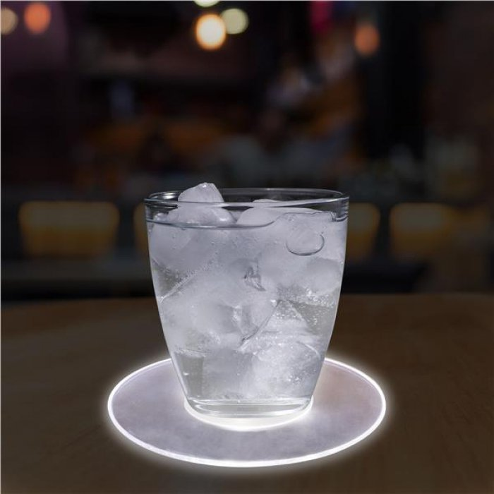 "LED 5"" Drink Coaster"