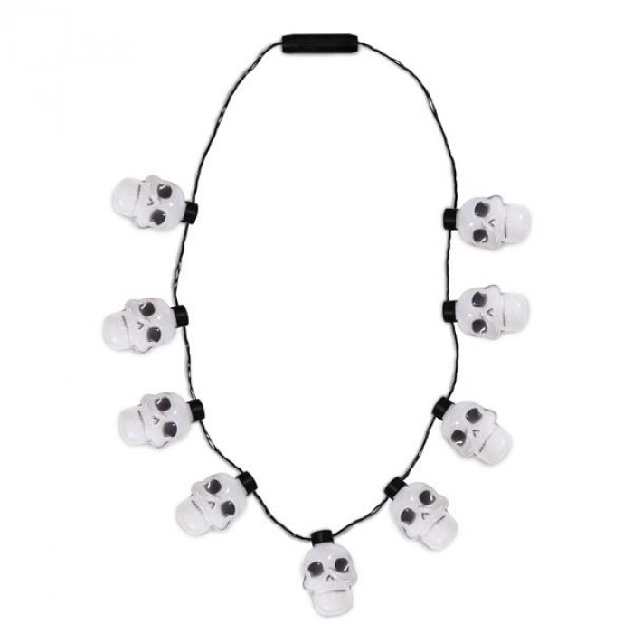 LED Skull Necklace