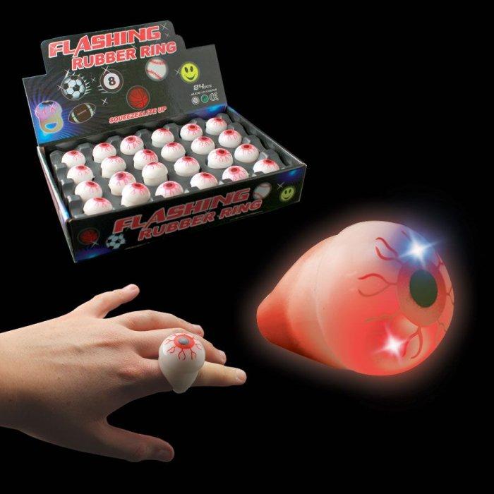 LED Eyeball Jelly Rings