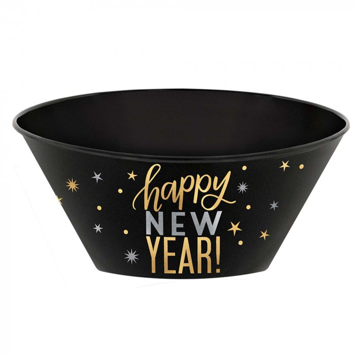 New Years Eve Serving Bowl | GlowUniverse.com
