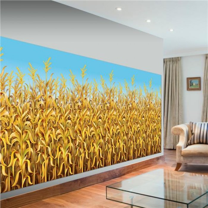 Cornstalks Room Roll