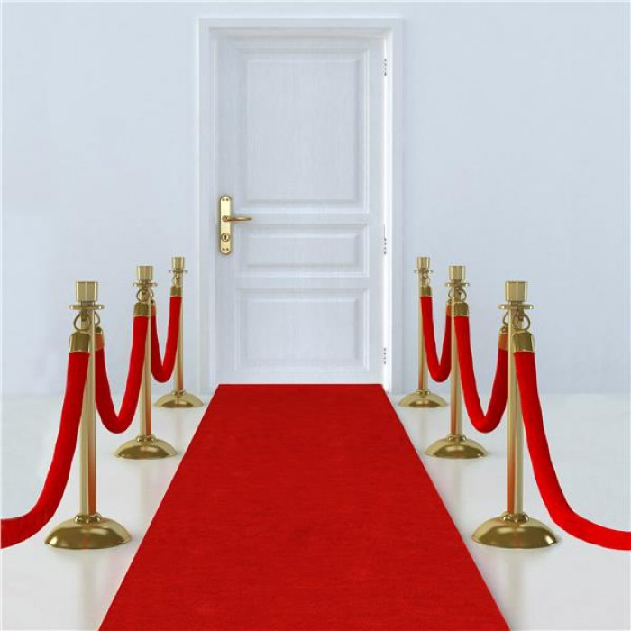 Hollywood Red Carpet Floor Runner
