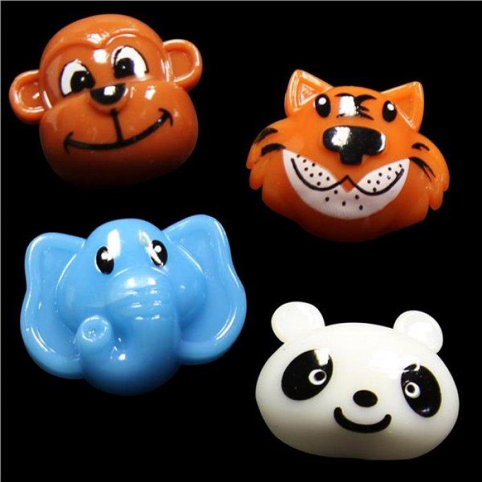 LED Wild Animal Jelly Rings