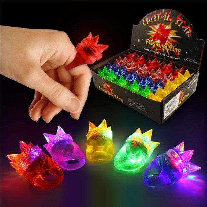 LED Spike Jelly Rings