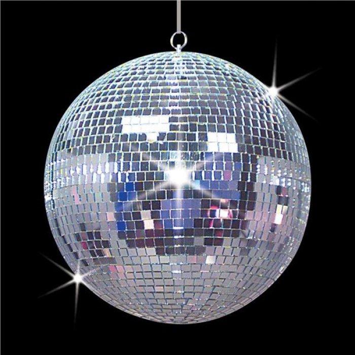 """Disco 12"""" Mirror Ball"""