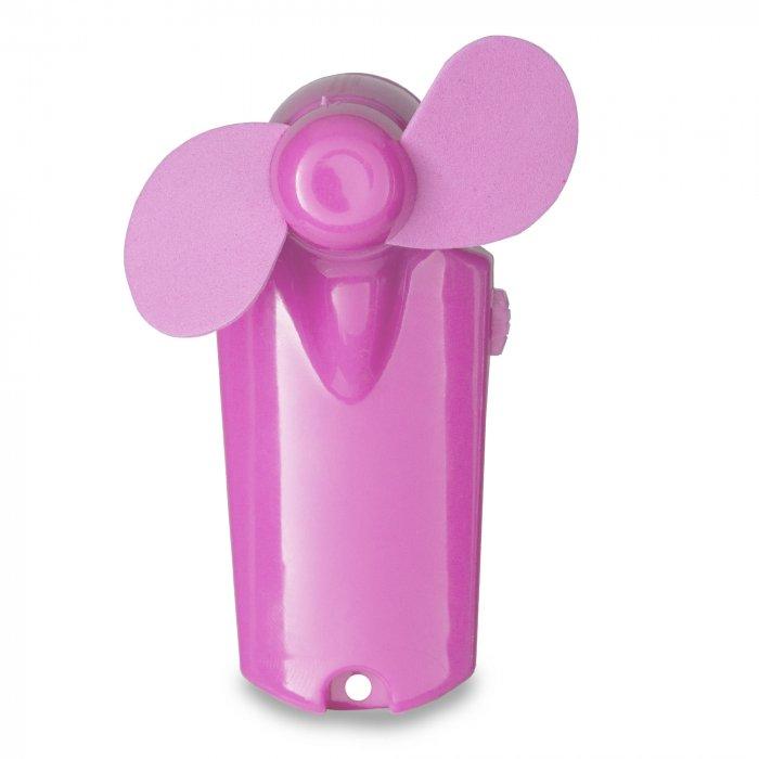 "Pink Handheld 3 3/4"" Mini Fan"