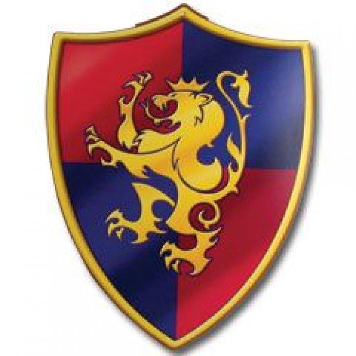 Medieval Crest Cutout