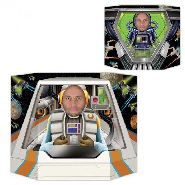 Space Pilot Photo Prop