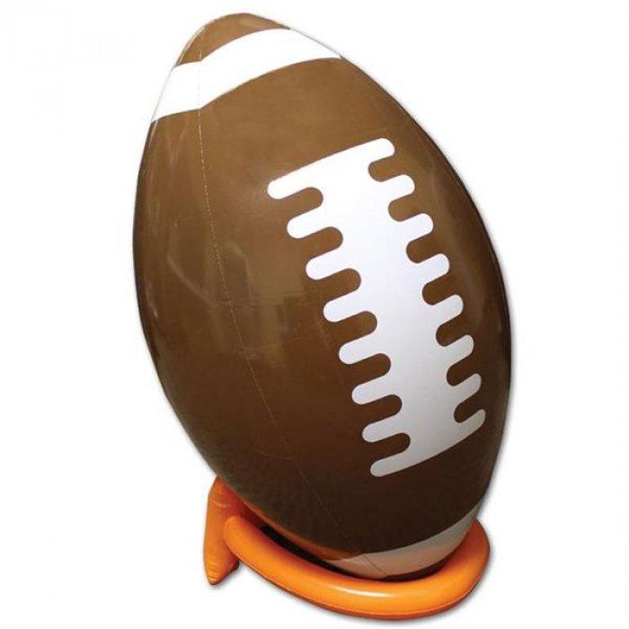 "Inflatable 39"" Football And Tee"