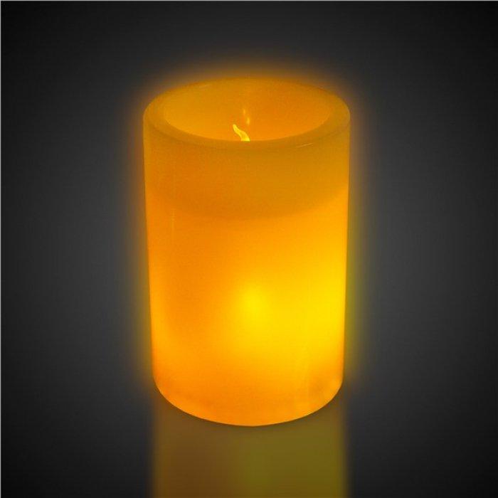 LED Flameless Pillar Candle