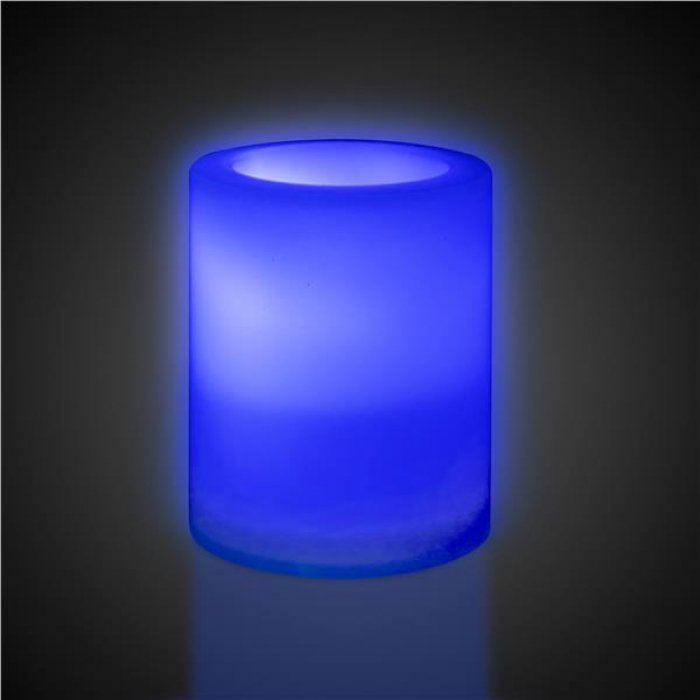 LED Flameless Multi-Color Votive Candle