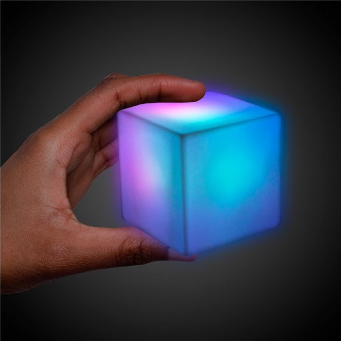 LED Color-Morphing Cube