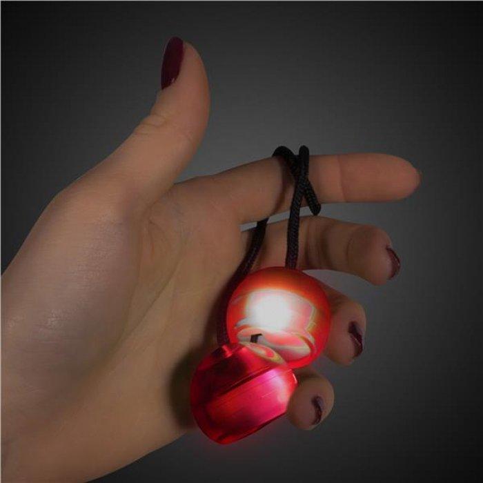 Red LED Thumb Chucks