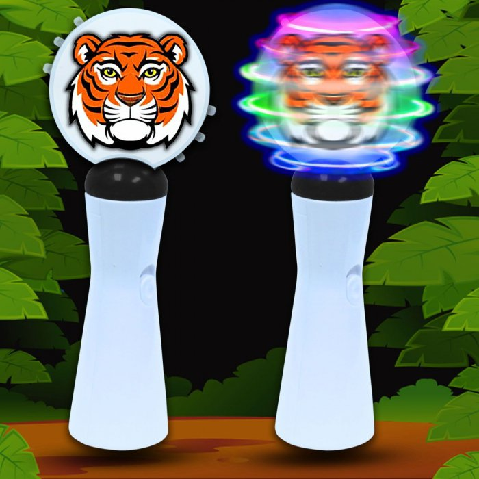 LED Tiger Coin Spinner Wand