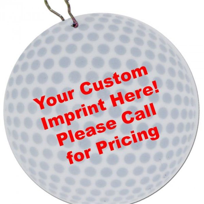"Golf Ball 2 1/2"" Medallion"