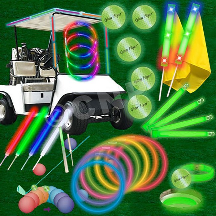 Economy 60 Player Glow Flyer Fairway Tournament Package
