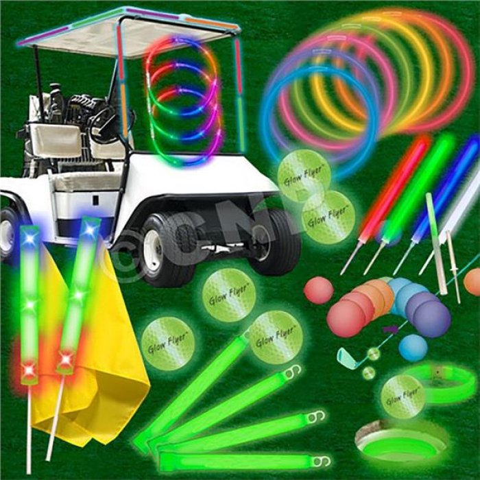 Economy 80 Player Glow Flyer Hole In One Tournament Package