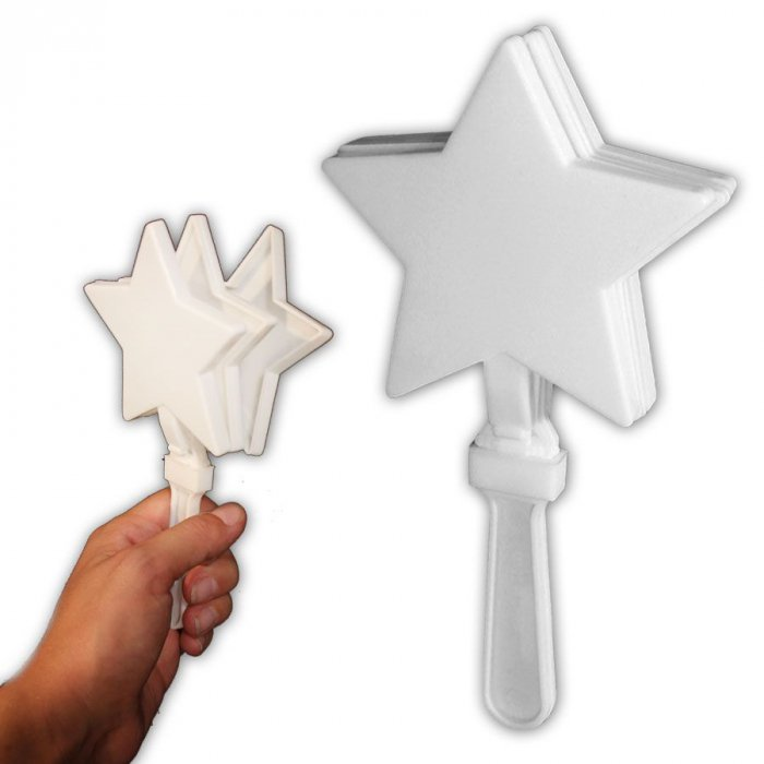 White Star Hand Clappers