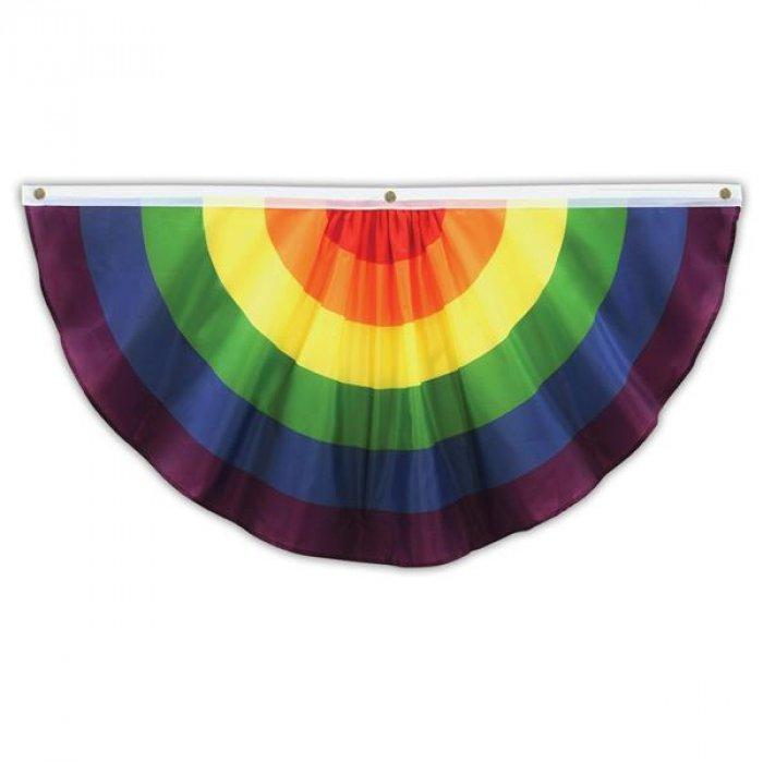 Rainbow Cloth Bunting
