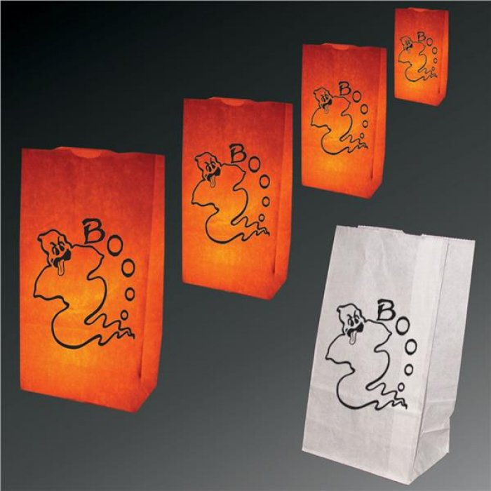 Ghost Luminary Bags - 50 Pack