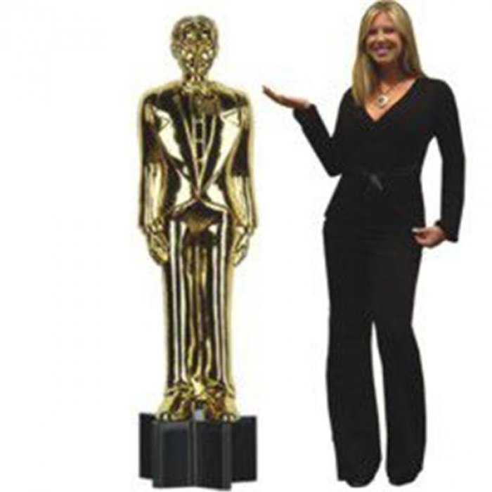 Awards Night Statue Cutout