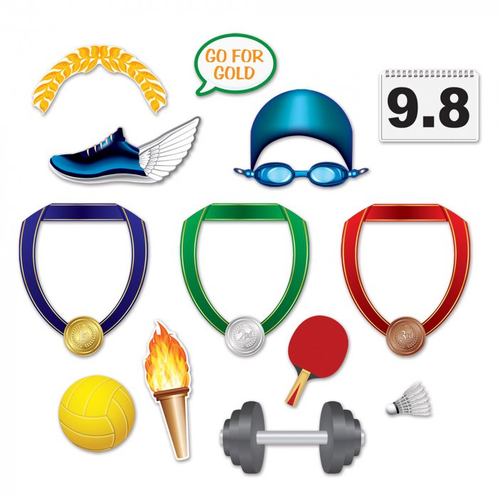 Olympic Sports Photo Props