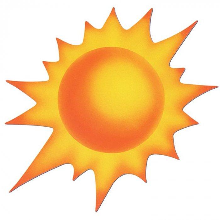 Sun Cutout