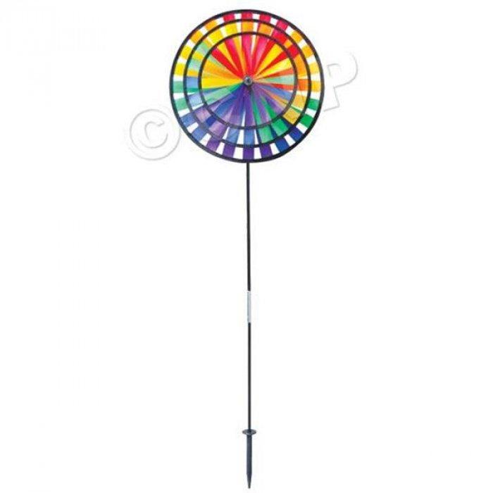 Rainbow Triple Wind Spinner