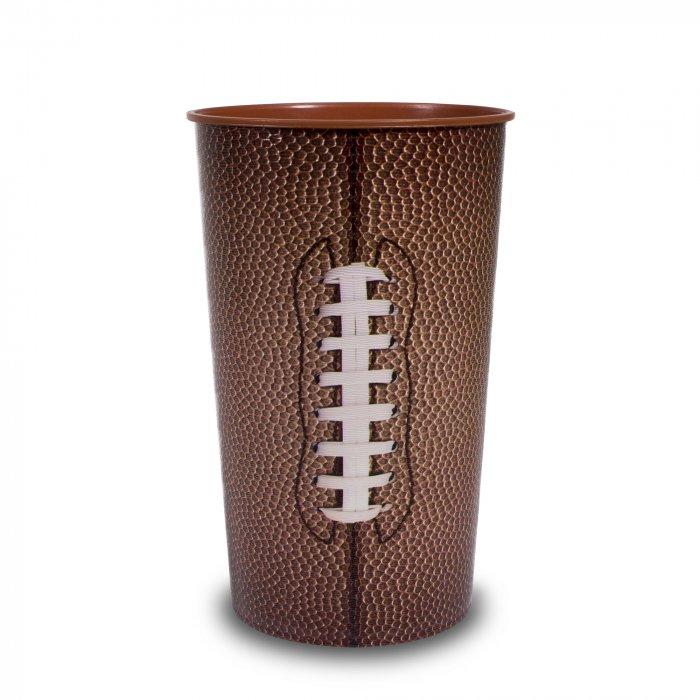 Football 22 oz Plastic Cups