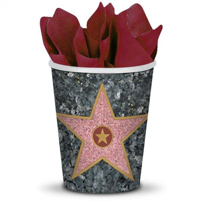 Walk of Fame Star 9 oz Cups