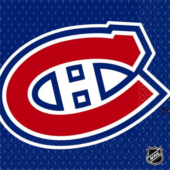 Montreal Canadiens Lunch Napkins