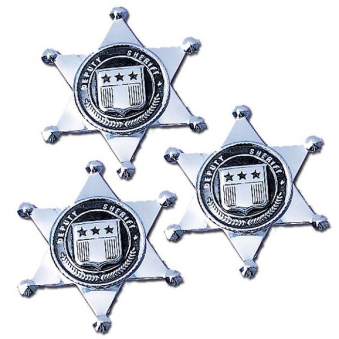 Sheriff Silver Badges