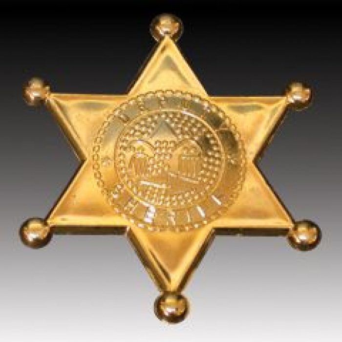 Gold Sheriff Badges