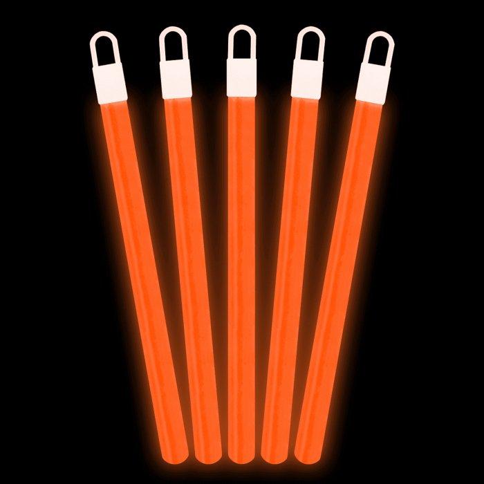 6 Inch Glowsticks - Orange