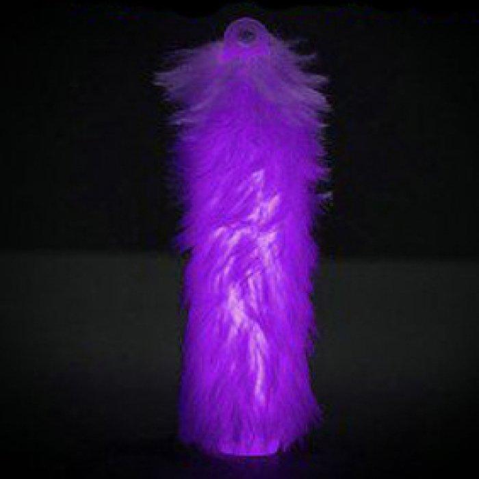 6'' Fuzzy Glow Sticks - Purple