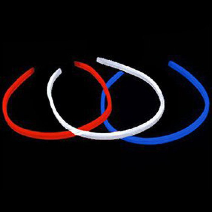 "22"" Twister Necklace -Red, White & Blue (72 pack)"