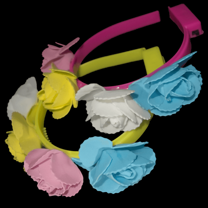 Light-Up Flower Fest Headband