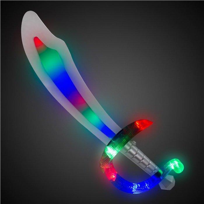 LED Pirate Foam Sword