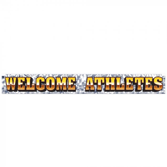 Welcome Athletes Banner