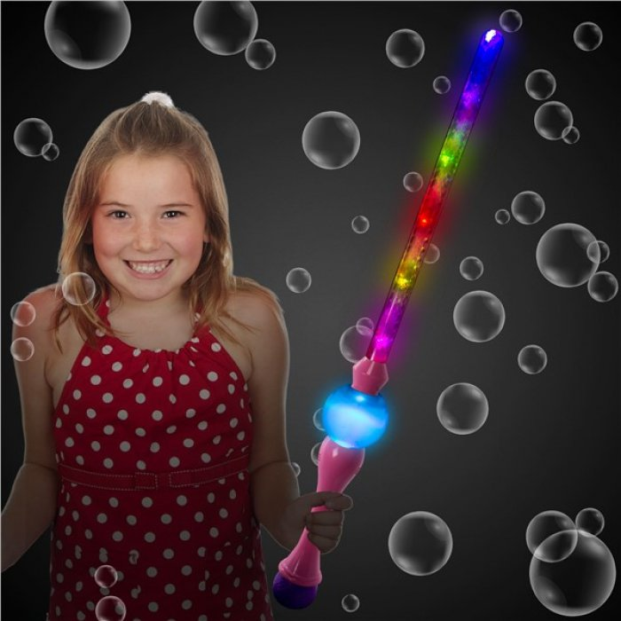 LED Pink Bubble Sword