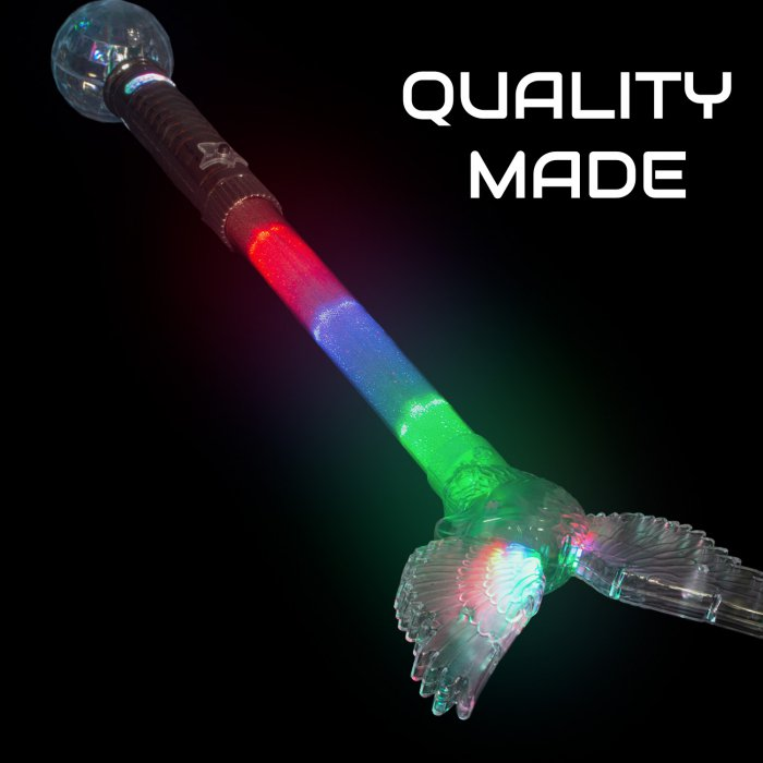 "20"" Light-Up Eagle Wand"