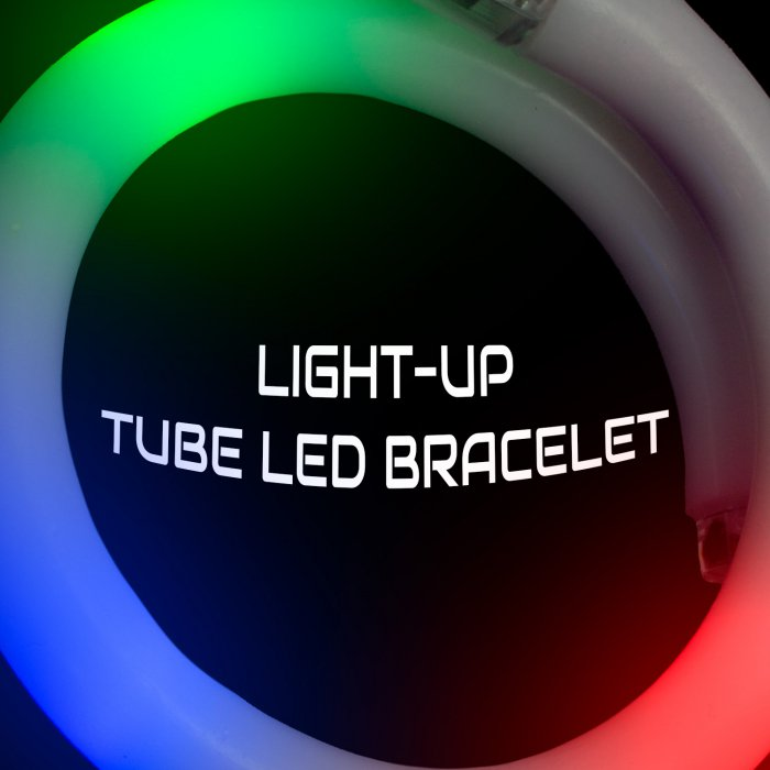 Light Up Tube Led Bracelet