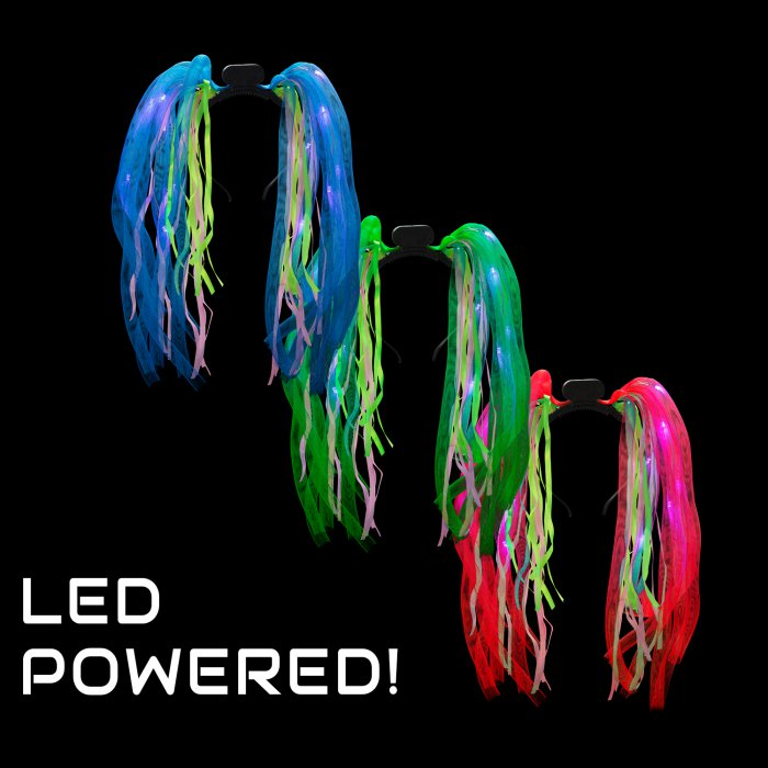 LED Light-Up Tentacle Headboppers