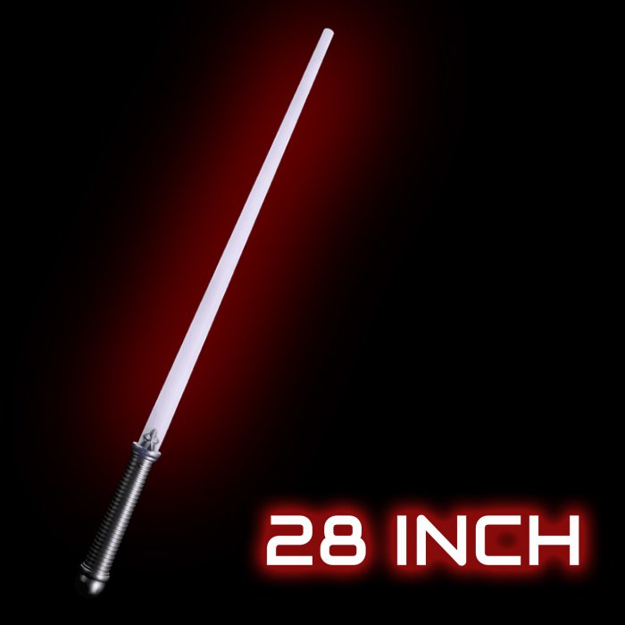 LED Light-Up 28 Inch Magic Sword - Red