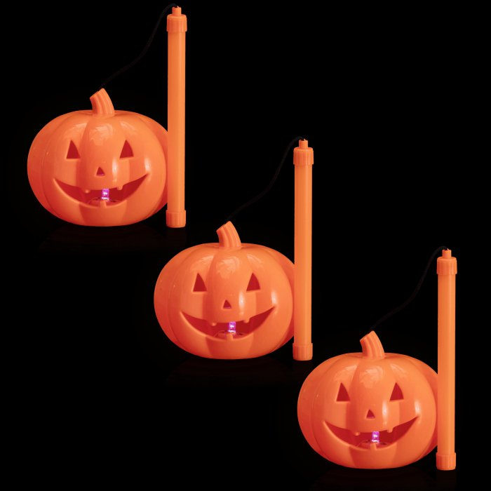 LED Light-Up Pumpkin Lantern